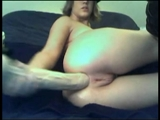Sexy Blonde Amateur Fist il buco del culo su Show Webcam