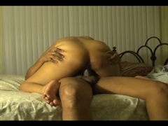 Anal Creampie Sex Video of Wife Riding Thick Cock in Her Ass
