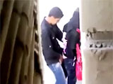 Arab Woman Anal Sex in the Streets