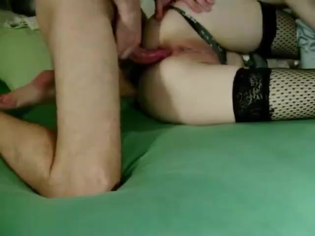 Wife does anal on husband