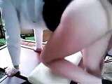Francés novia en Doggystyle Video Anal Hardcore