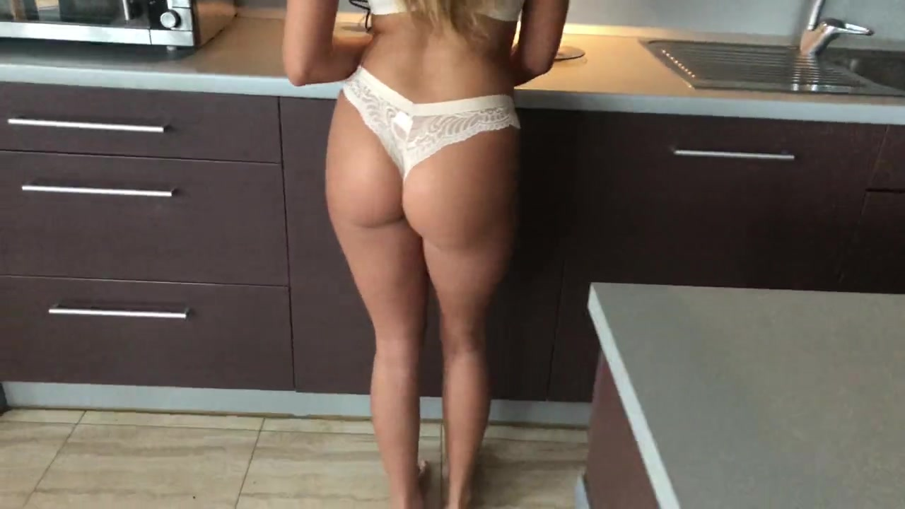 Analfucking Videos kitchen deep anal fucking and cum in her ass